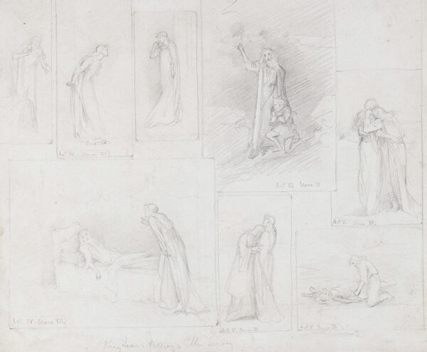 RUTLAND Violet, Duchess of (1856-1937) - King Lear: 'Ellen Terry and Henry Irving'.