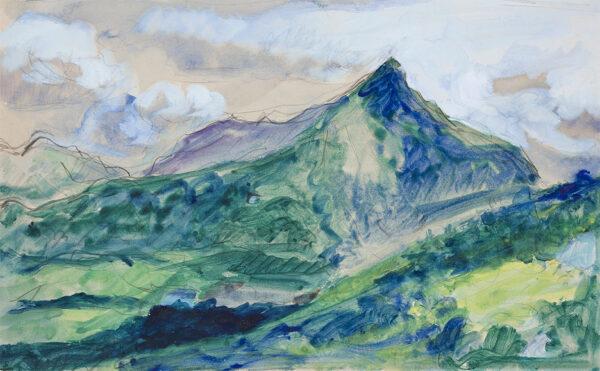 RYAN Adrian (1920-1998) - 'Cnicht II'.