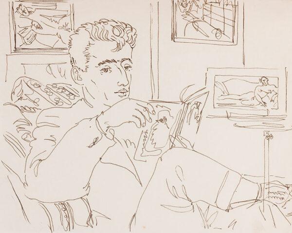 SAMUELSON Peter (1912-1986) - Reading.