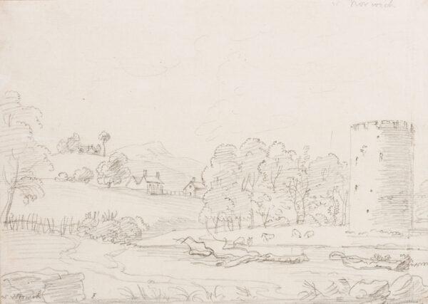 SANDBY Paul R.A. (1731-1809) - 'Nr Norwich'.