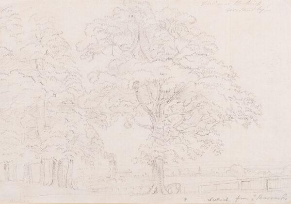 SANDBY Paul R.A. (1731-1809) - 'Woolwich from ye Barracks'.