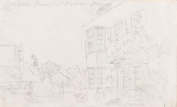 SANDBY Paul R.A. (1731-1809) - 'Mrs Steele's (?) St.