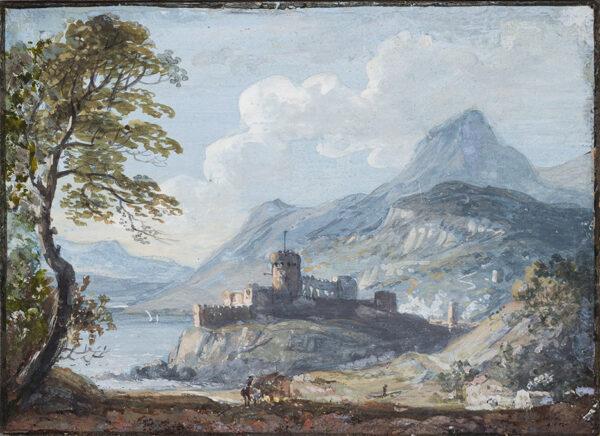 SANDBY Paul R.A. (1731-1809) - Capriccio landscape.