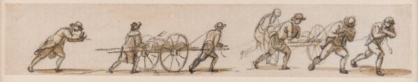 SANDBY Paul R.A. (1731-1809) - Porters.