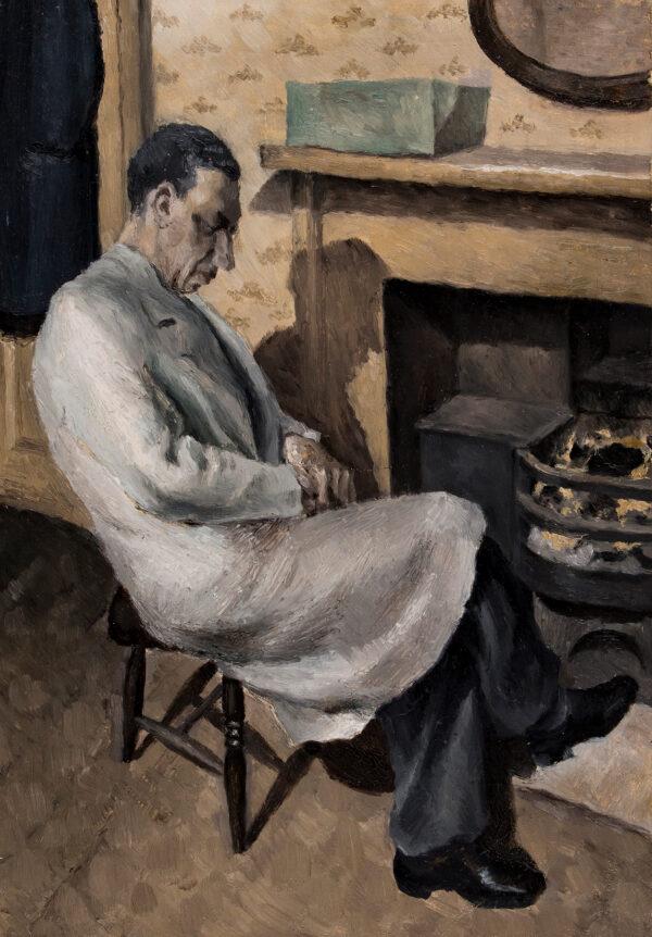 SATORSKI Cyril (b.1925) - Portrait of the Artist's Father.