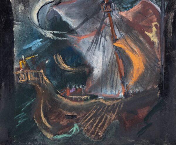 SCHICK Heidi (1909-1999) - 'Shakespeare, Sturm / Tempest'.
