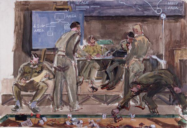 SCHMOLLE Stella - WW2 Operations Room.