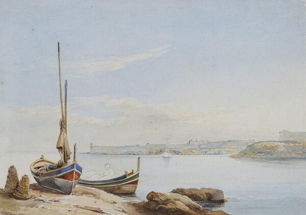 SCHRANZ Giovanni (1794-1882) - Gozo.