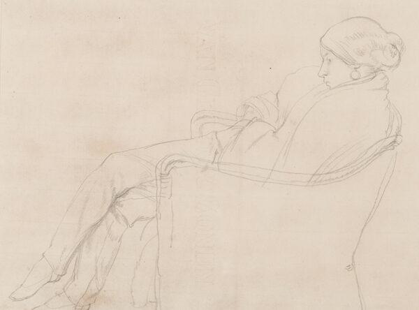 SCHWABE Professor Randolph (1885-1948) - Birdie, the artist's wife.