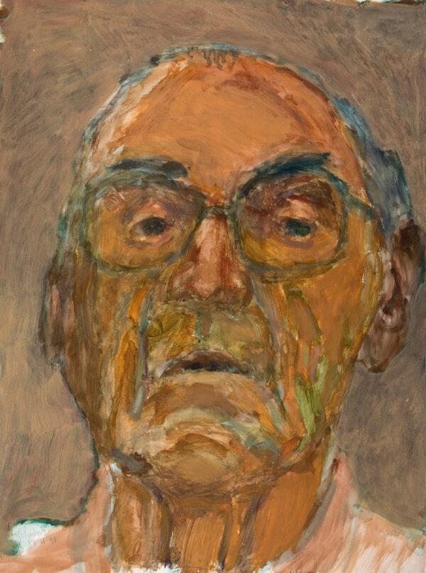 SCHWARZ Hans R.W.S. (1922-2003) - Self-Portrait at 76 years.