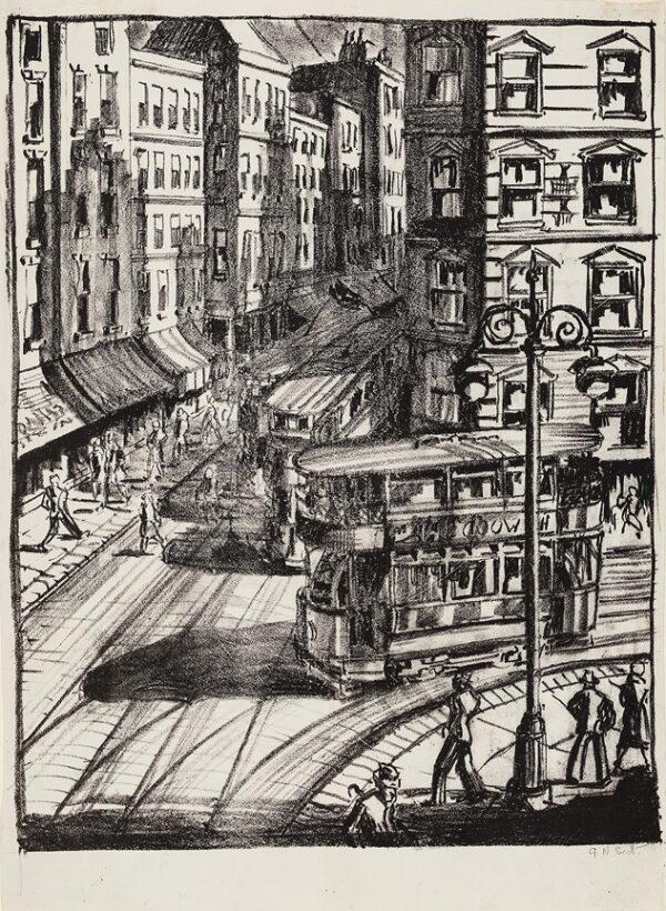 SCOTT Gordon (1914-2016) - South London Street.