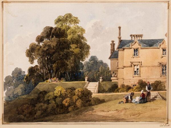 SCOTT Caroline Lucy (Lady) (nee Douglas 1784-1857) - 'Strathendry House, Fife'; belonging to the Douglas family.