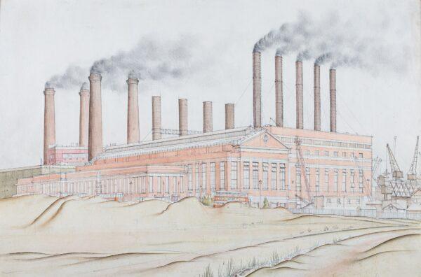 SCOTT Gordon (1914-2016) - Barking Power Station.