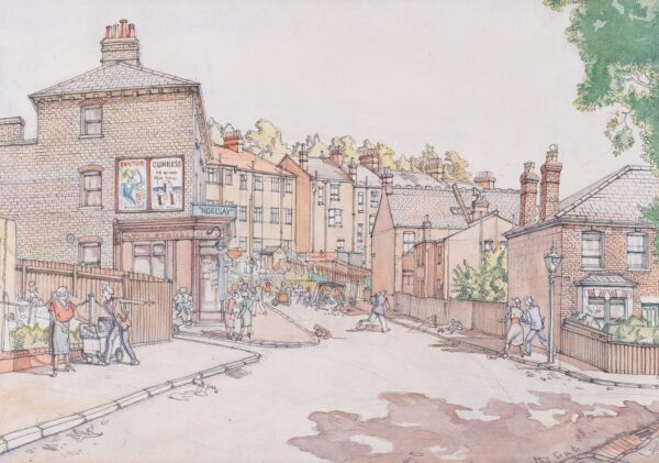 SCOTT Gordon (1914-2016) - South London Suburb.