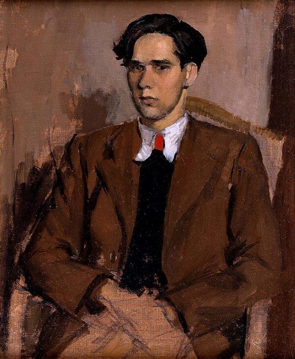 SCOTT Gordon (1914-1916). - Red tie.