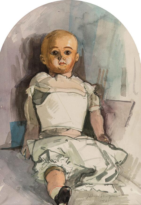 SEARGEANT John (1937-2010) - The Studio doll.