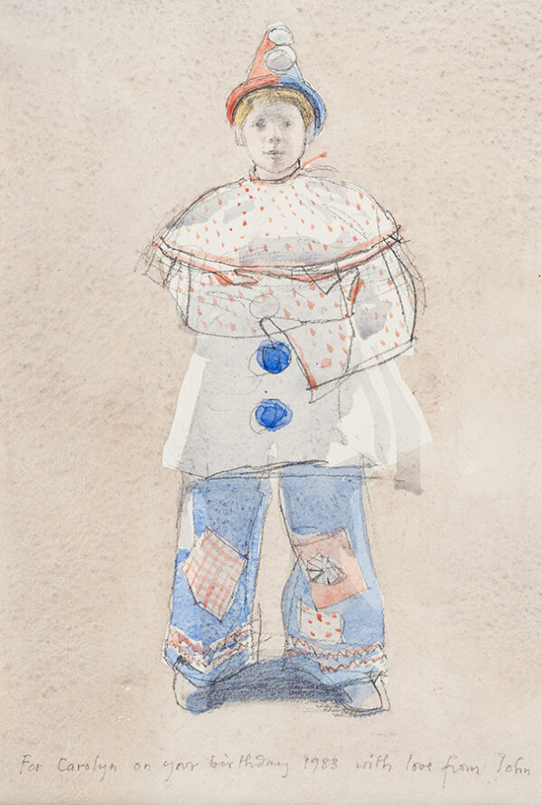 SERGEANT John (1937-2010) - Pierrot.