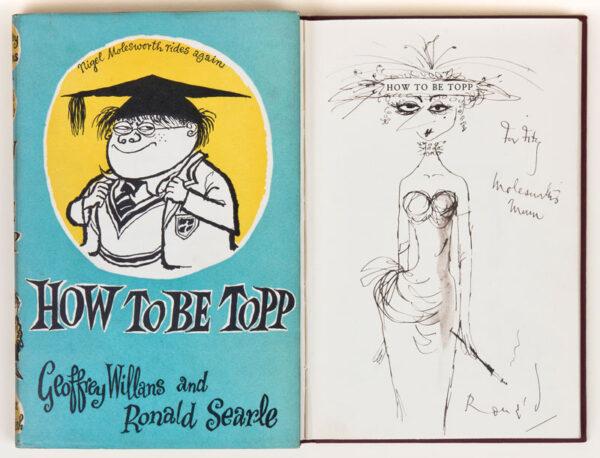 SEARLE Ronald C.B.E. (1920-2011) - 'Molesworth's Mum'.
