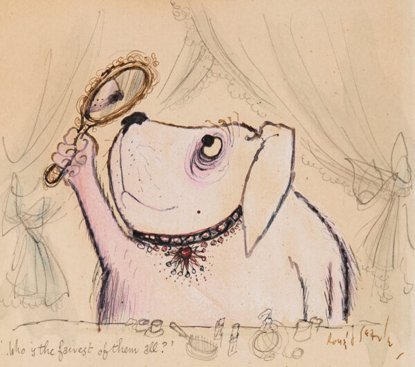 SEARLE Ronald C.B.E. (1920-2011) - 'Who's the fairest of them all'.