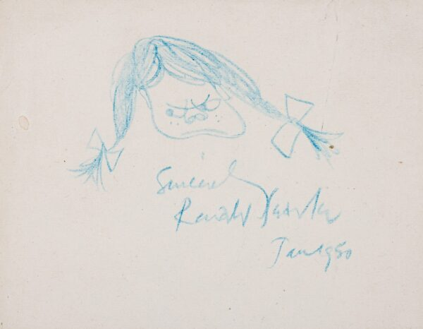 SEARLE Ronald (1920-2011) - A St Trinian's Girl.