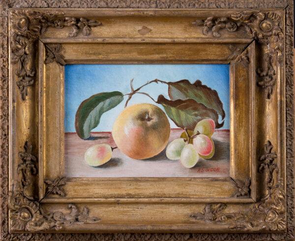 SELBY-BIGGE Rachel Ruth (nee Humphries) (b. circa 1892) (Exh: 1914) - Apple still-life.
