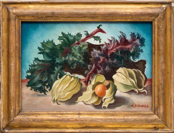 SELBY-BIGGE Rachel Ruth (nee Humphries) (b. c.1892) (Exh: 1914) - 'Cape gooseberries'.