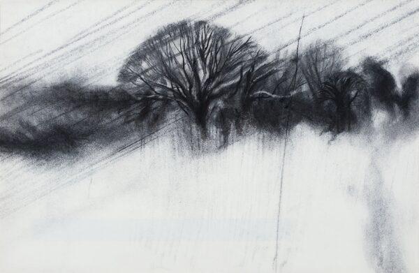 SELF Colin (b.1941) - 'Landscape in rain, Norwich'.