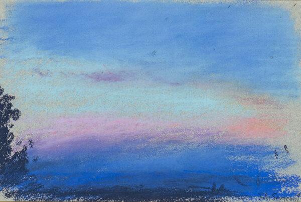 SERGEANT John (1937-2010) - 'Sunset'.
