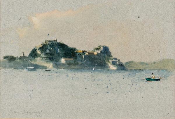 SERGEANT John (1937-2010) - Distant Isle.