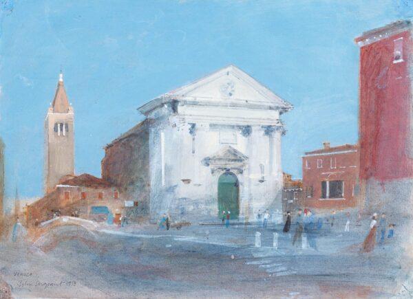 SERGEANT John (1937-2010) - San Barnaba, Venice.