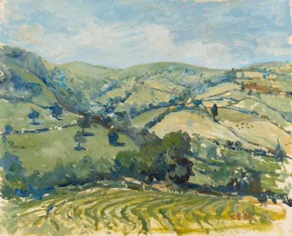 SERGEANT Carolyn (1937-2018) - Herefordshire landscape.