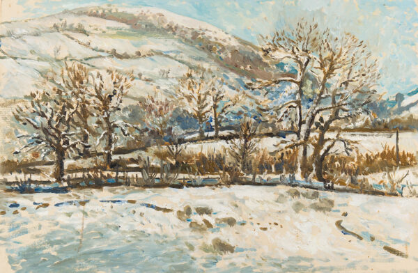 SERGEANT Carolyn (1937-2018) - Winter scene, Herefordshire.