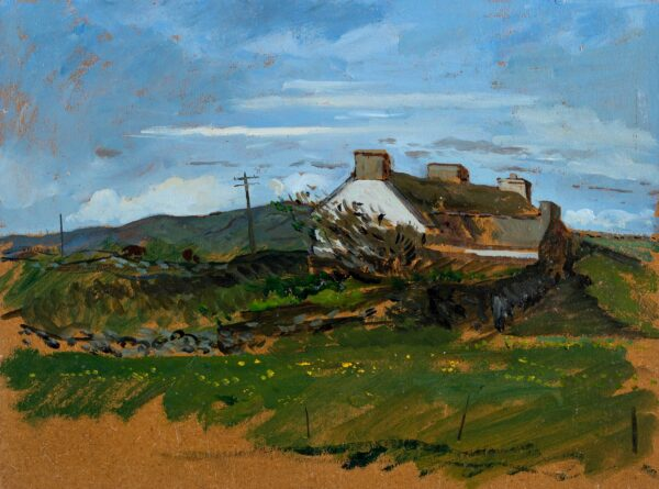 SERGEANT Carolyn (1937-2018) - Cottage on the Moor.