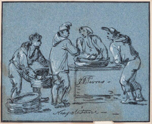 SERRES John Thomas (1759-1825) - 'Neapolitani' (sic).