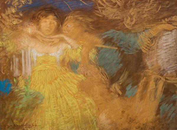 SHACKLETON William (1872-1933) - Radiant figures.