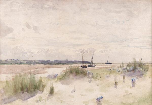SHANNON James Jebusa (1862-1923) - Low tide.