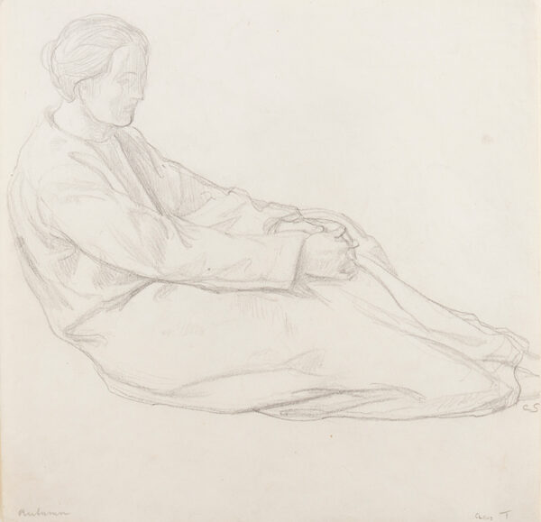 SHANNON Charles Hazelwood R.A. (1863-1937) - 'Autumn'.
