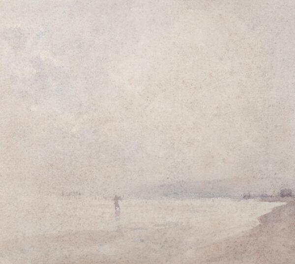 SHANNON Sir James Jebusa (1862-1923) - Misty Estuary.