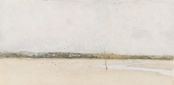 SHANNON Sir James Jebusa (1862-1923) - Estuary at low tide.