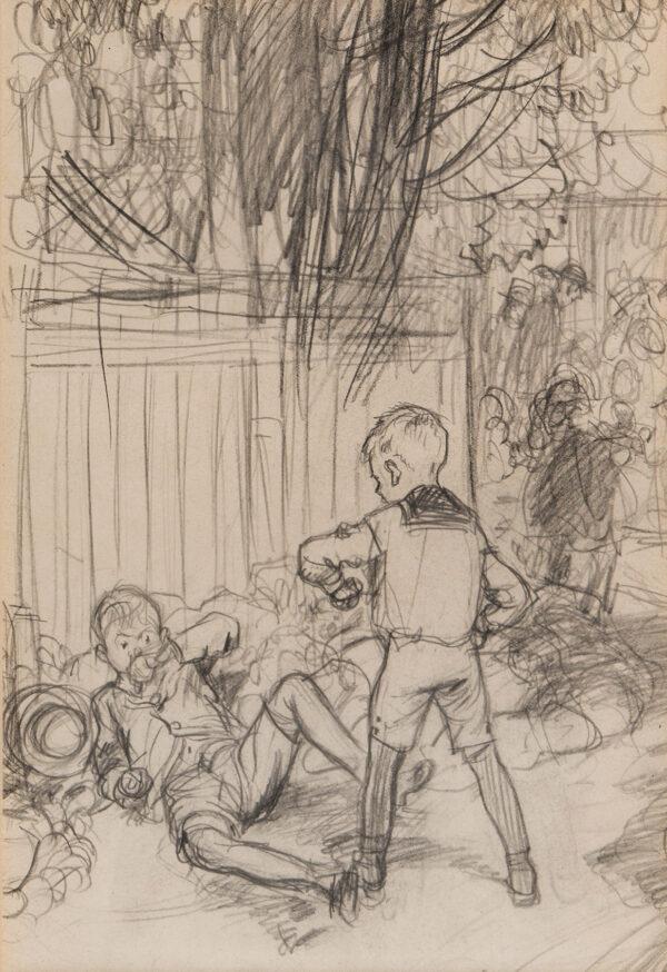 SHEPARD Ernest Howard M.C. (1879-1976) - 'Jeremy and Ernest'.