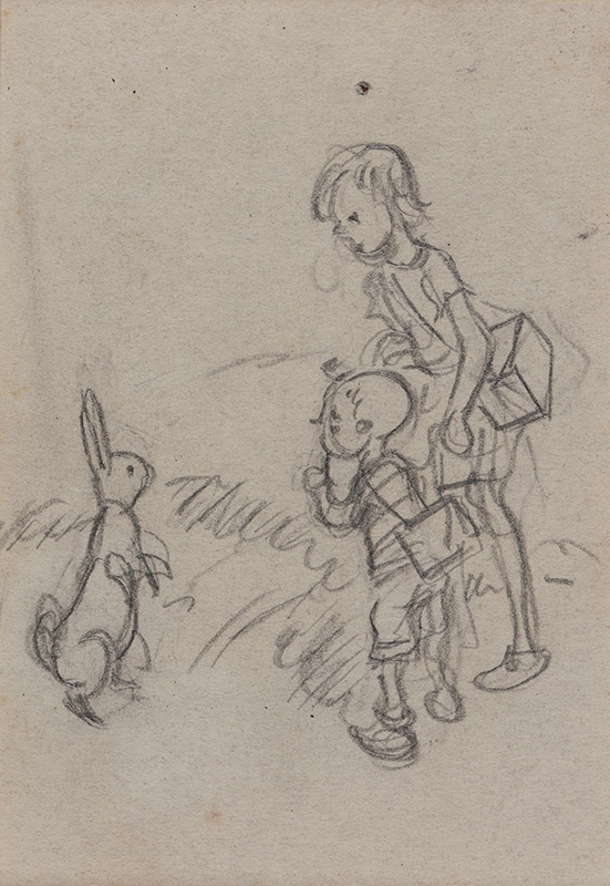 SHEPARD Ernest Howard D.S.O. (1879-1976) - 'They enquired of the Rabbit'.