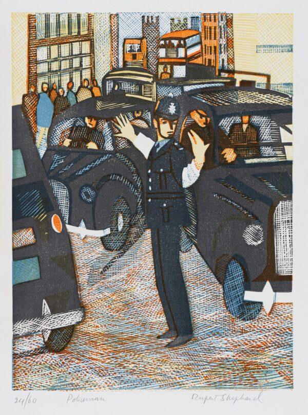 SHEPHARD Rupert (1909-1992) - 'Policeman'.