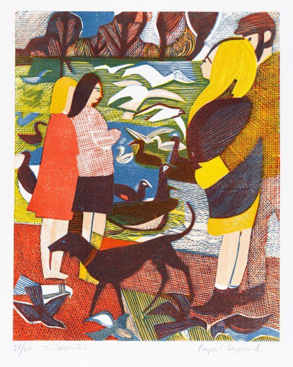 SHEPHARD Rupert (1909-1992) - 'The Serpentine'.