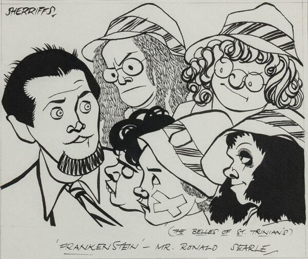 SHERRIFFS Robert S. (1906-1960) - 'The Belles of St Trinian's / Frankenstein / Mr Ronald Searle'.