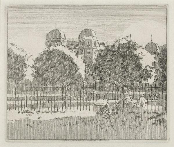 SICKERT Walter Richard (1860-1942) - 'Sussex Place, Regents Park'.