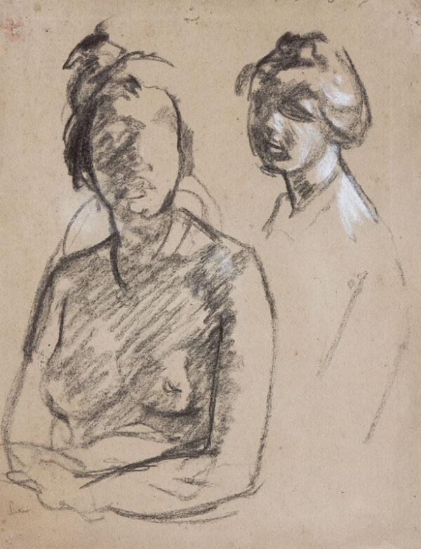 SICKERT Walter Richard R.A.  N.E.A.C. (1860-1942) - Figure studies, Venice.