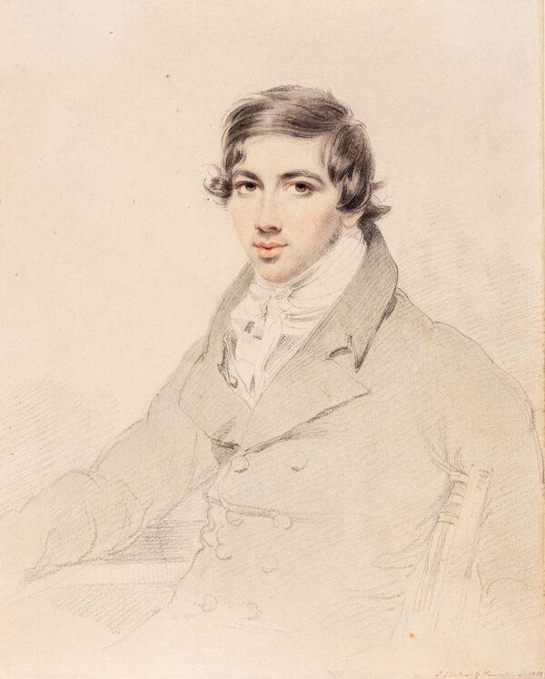 SLATER John (c.1779-1837) - Portrait of a Young Man.