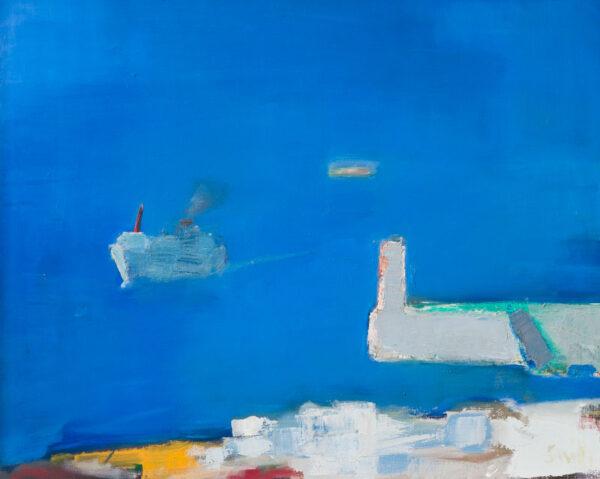 SMITH Ronald R.S.W. R.G.I. (b.1946) - 'Mediterranean Harbour'.