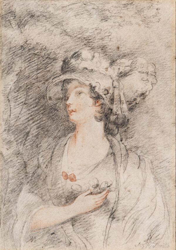 SMITH John Raphael (1752-1812) - A fancy portrait.