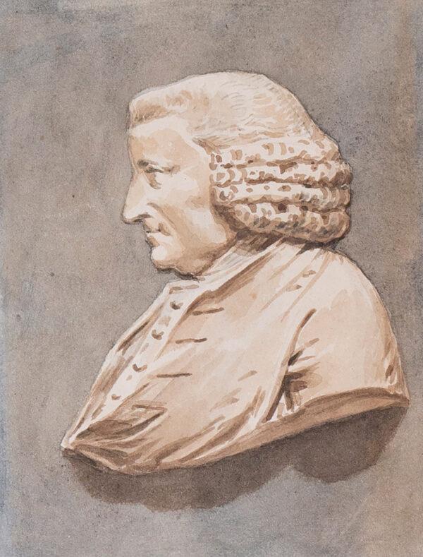 SMITH John Thomas (1766-1833) - 'Sir John Hawkins' (1719-1798) Author and friend of Samuel Johnson.